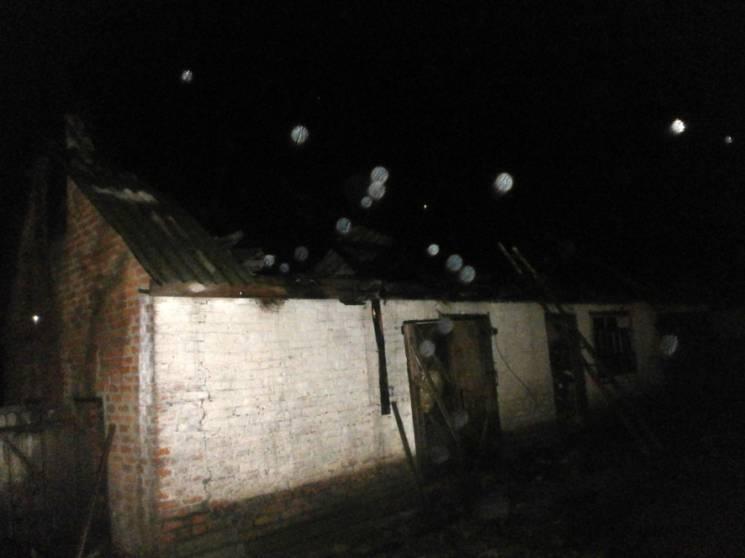На Полтавщині блискавка спричинила пожеж…