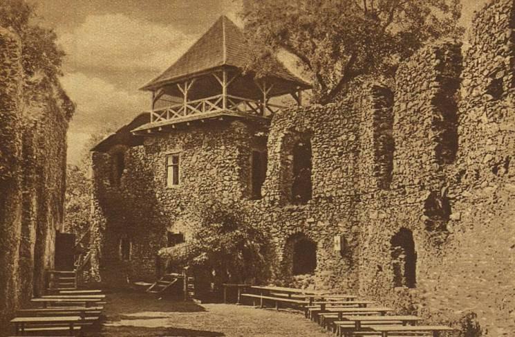 Невицький замок у міжвоєнний період 85 років тому