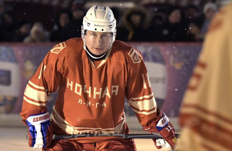 The New Yorker: Граючи в хокей проти Путіна