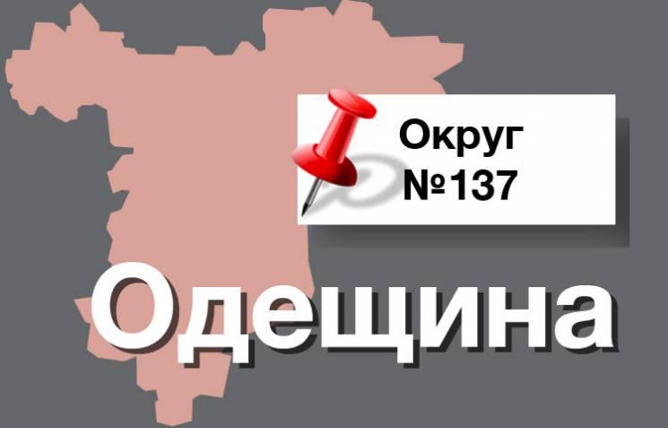 Округ №137: Клімова на Одещині хоче потіснити представник БПП