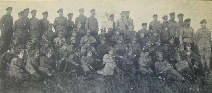"""Боротьба за незалежність: Як українські бійці сто років тому вшановували """"прадідів-запорожців"""""""