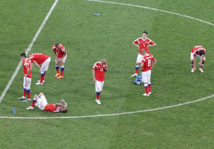 Найяскравіші фото з феєричної поразки Росії в матчі з Хорватією в Сочі