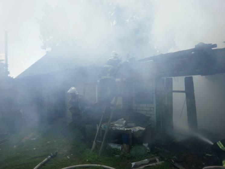 На Полтавщині через недопалок загорівся…