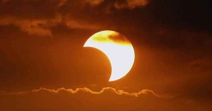 Цієї п'ятниці очікується сонячне затемнення