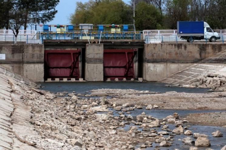 Україна завершує будівництво дамби на Північно-Кримському каналі
