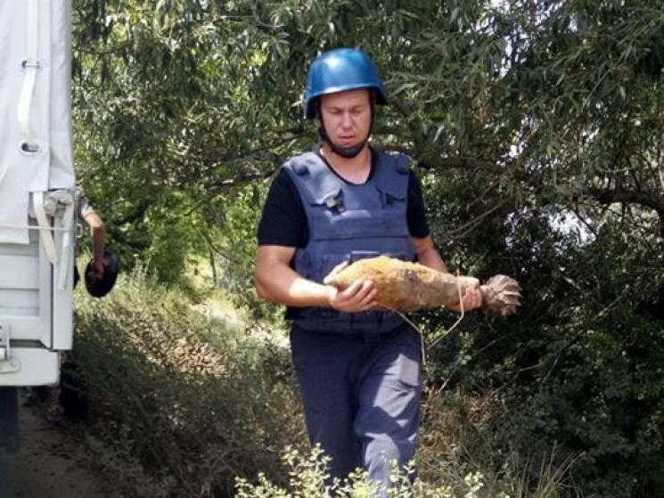 У Миколаєві чоловік знайшов гранату у сараї