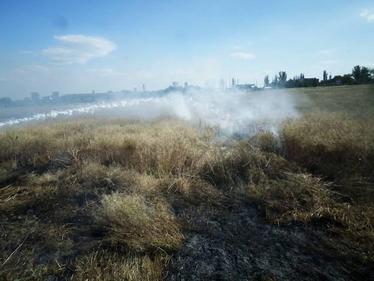 На Миколаївщині через пожежу біля траси зіткнулись вантажівка та мікроавтобус
