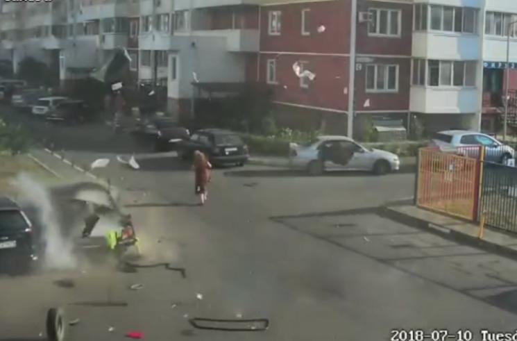 На Кубані вибухнув автомобіль