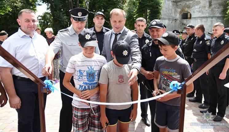 Чергова поліцейська станція запрацювала на Тернопільщині