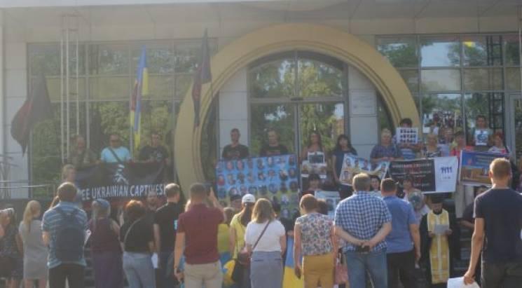 """У Дніпрі підтримали всеукраїнську акцію """"Свободу полоненим"""""""