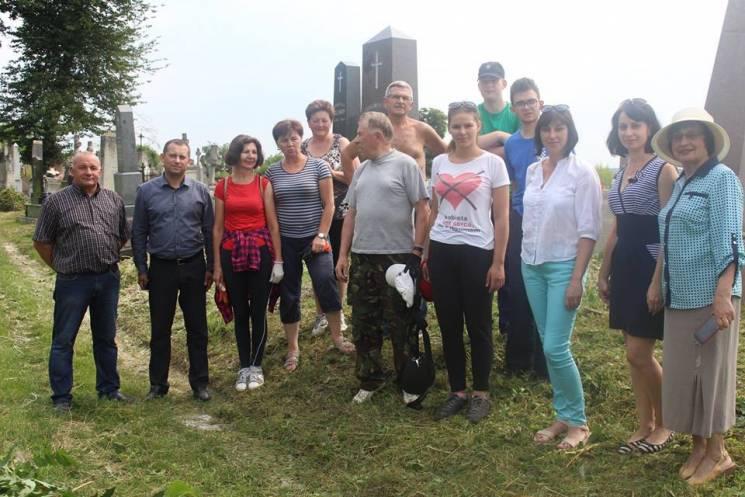 Міжнародну акцію з поляками провели на Тернопільщині (ФОТО)