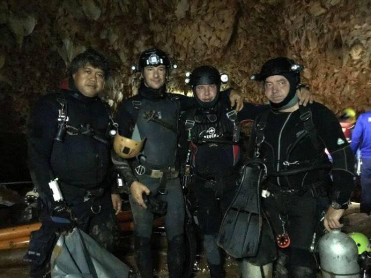 Що відомо про українських дайверів, які рятували дітей у Таїланді