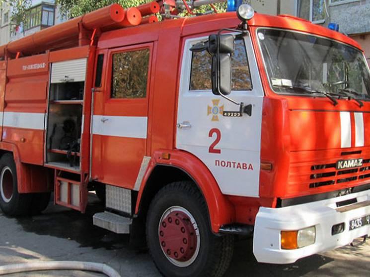 """Під Полтавою """"розгулялись"""" пожежі сухостою"""