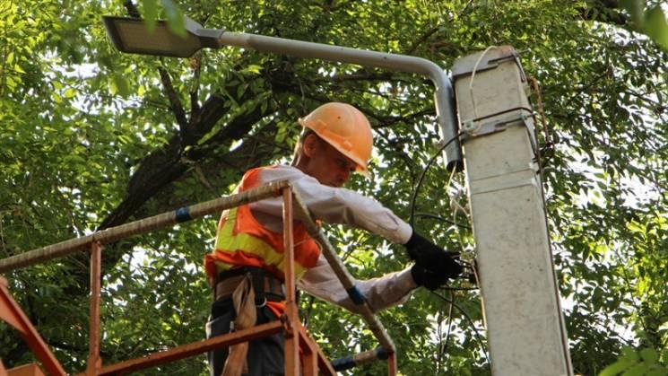 У цьому році в Запоріжжі встановлять понад півтори тисячи світлодіодних світильників