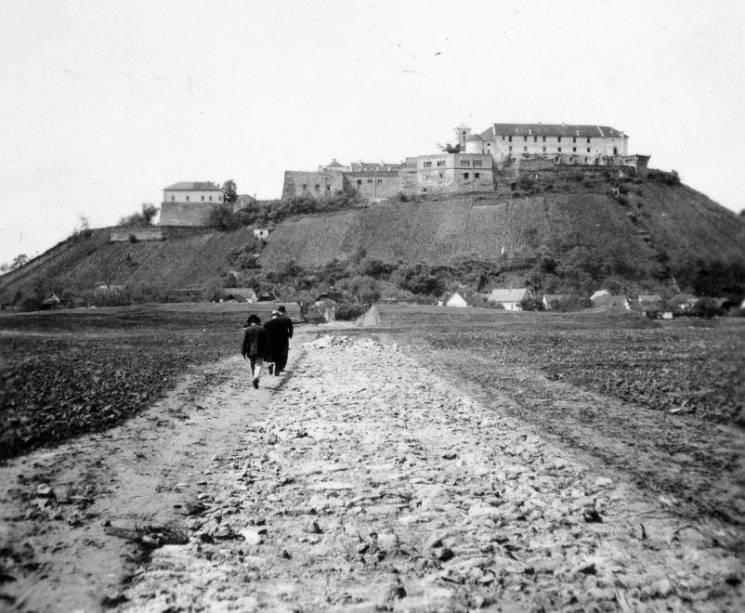 Грядки під мурами: Яким був замок у Мукачеві майже 80 років тому (ФОТО)