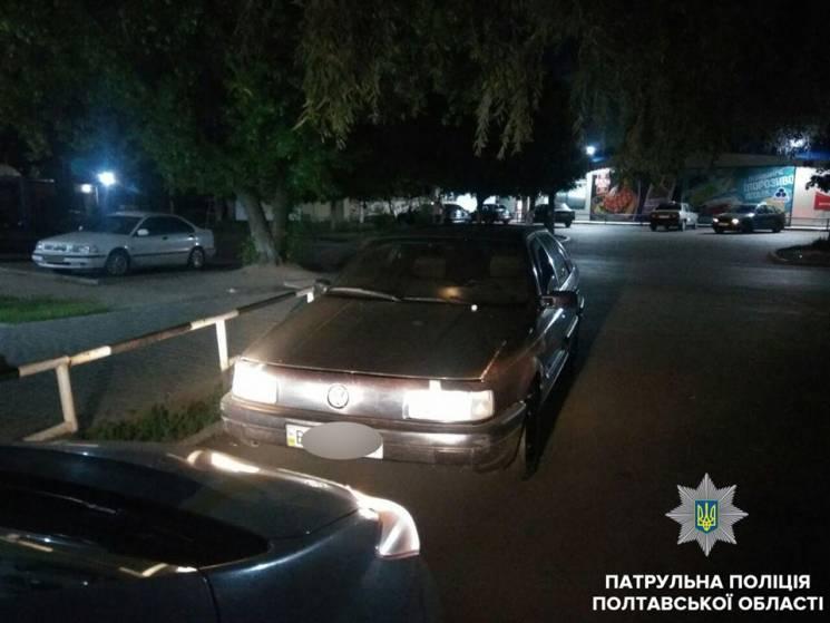 У Полтаві копи зупинили і оштрафували на 40 800 грн п'яного водія