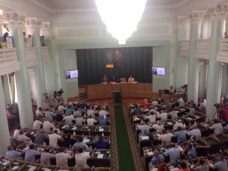 Стартувала позачергова сесія Хмельницько…