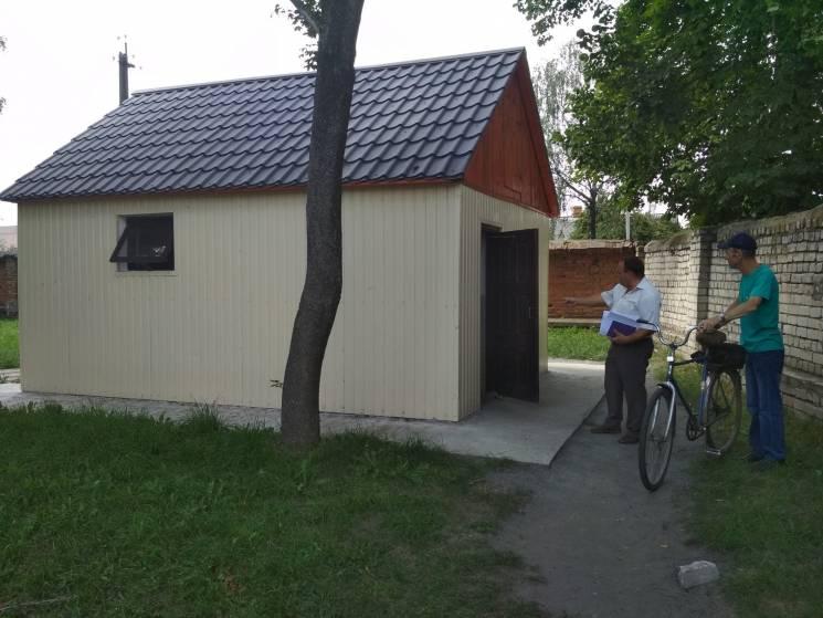 Злодії добралися до громадських туалетів на Хмельниччині (ФОТО)