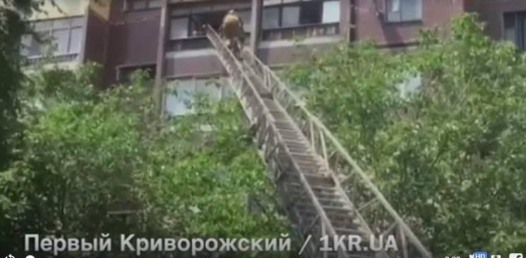 Рятувальники повідомили подробиці порятунку дитини з балкону шостого поверху