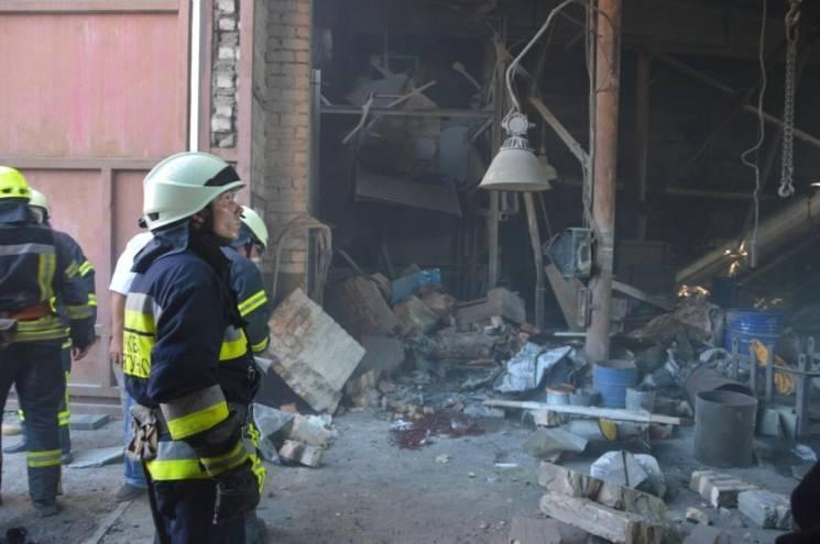 У Дніпрі поліція розслідує вибух на підприємстві, що спричинив смерть двох чоловік