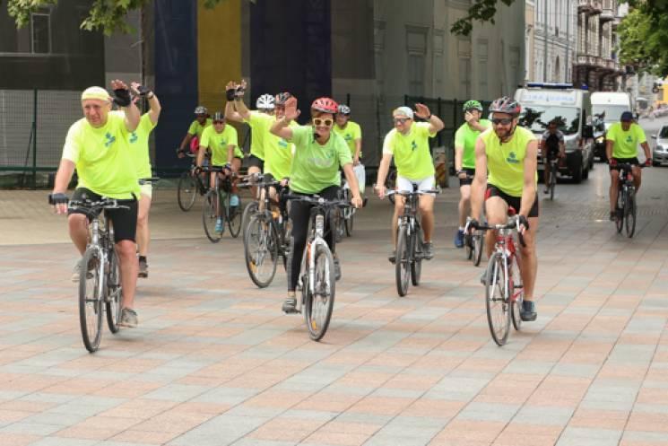 До Одеси на велосипеді прибув екс-прем'єр-міністр Литви (ФОТО)