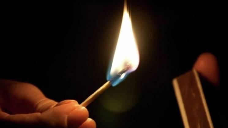 Серед ночі у Хмельницькому підпалили кафе