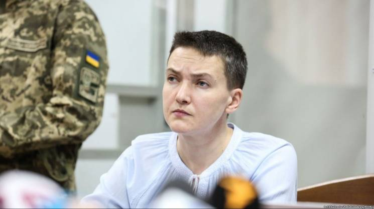 Савченко продовжили арешт, вона оголосила голодування