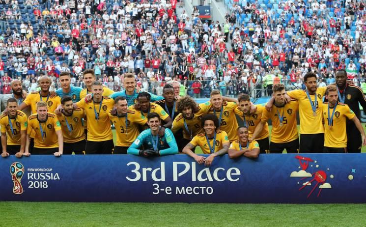 Як збірну Бельгії на Росії нагороджували вперше в історії медалями Мундіалю (ФОТОРЕПОРТАЖ)