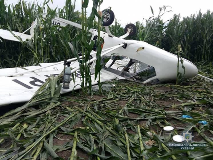 На Сумщині знову розбився літак