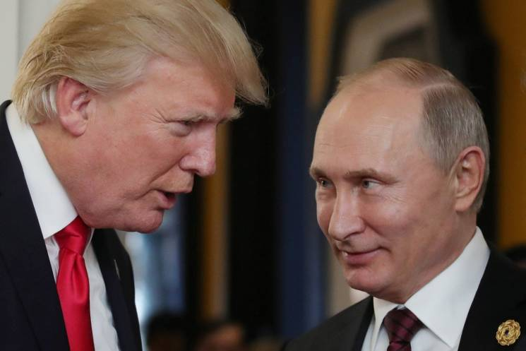 Трамп зустрівся з Путіним у Гельсінкі (ХРОНІКА)