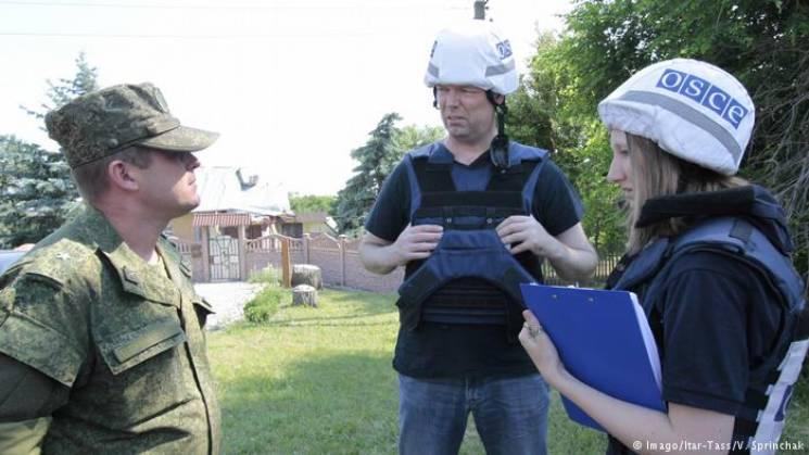 """Місія ОБСЄ на Донбасі """"зливає"""" дані ФСБ, - ЗМІ"""