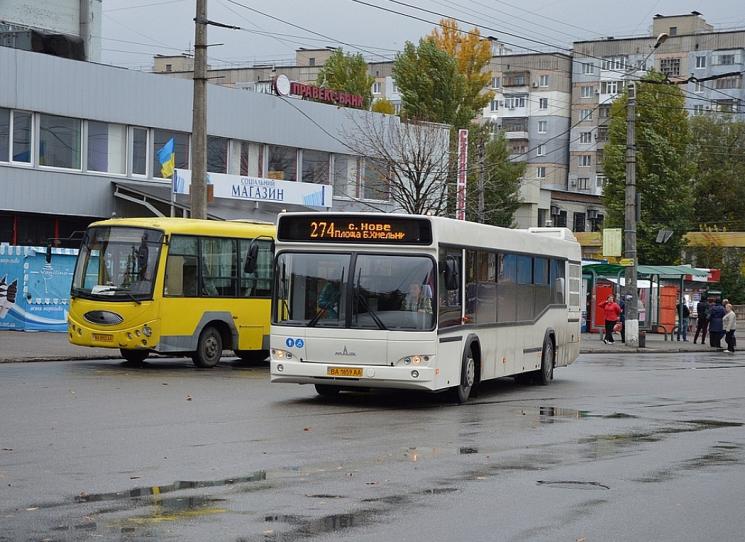 Нові автобуси курсуватимуть у Кропивницькому з 10 серпня