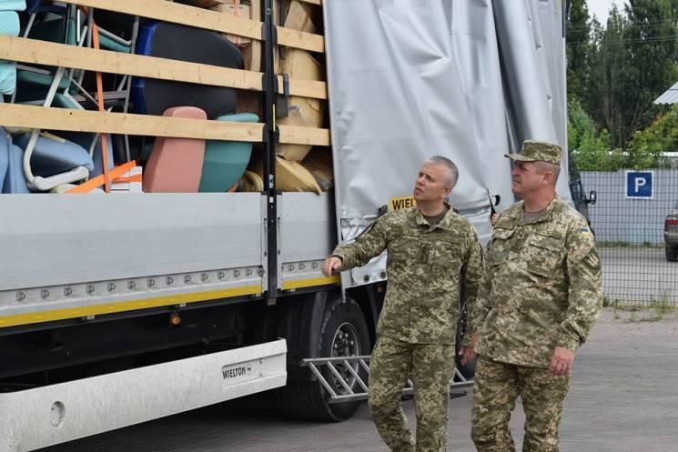 Асоціація Франція-Україна надалагуманітарну допомогу, що поліпшить життя мешканцям Донбасу (ФОТО)