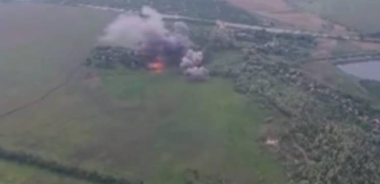 Сили ООС знищили техніку бойовиків, їхні втрати уточнюються (ФОТО)