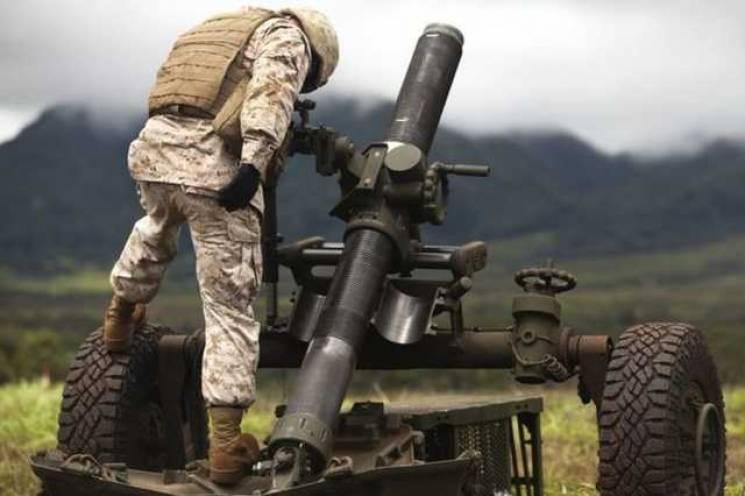 Бойовики мінометами провокували сили ООС на Донбасі