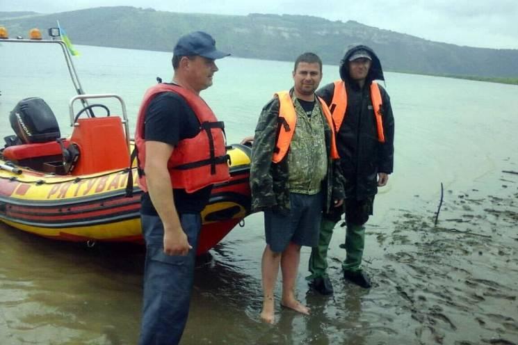 Невдалий заплив: Із Дністра біля Старої…