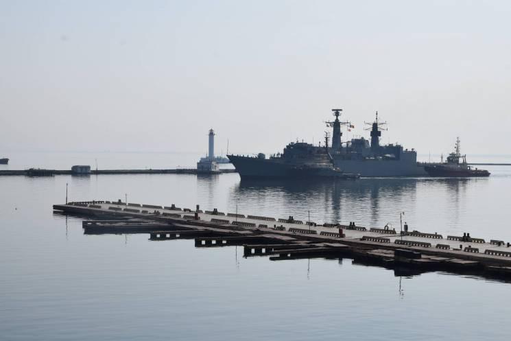 Стали відомі подробиці візиту кораблів НАТО до Одеси (ФОТО)