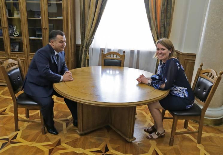 В Украину прибыла новый британский спецсоветник по вопросам обороны (ФОТО)