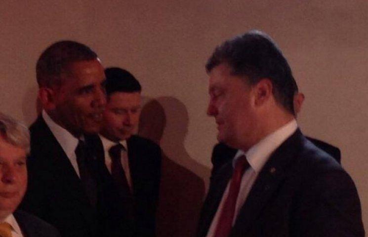 ФОТО ДНЯ: Обама и Порошенко ужинают в честь Джемилева