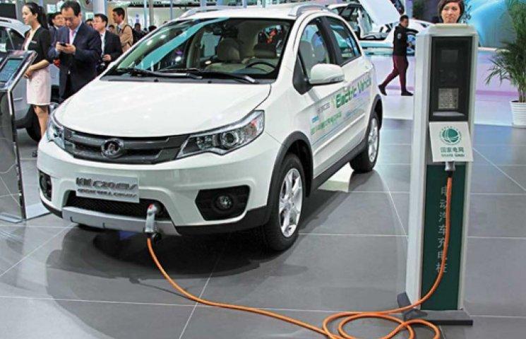 В Китае самый большой выбор электромобилей