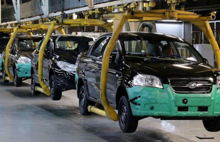 Производство украинских авто сократилось…