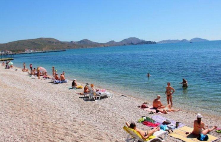 В Крыму в пять раз меньше туристов, чем в прошлом году