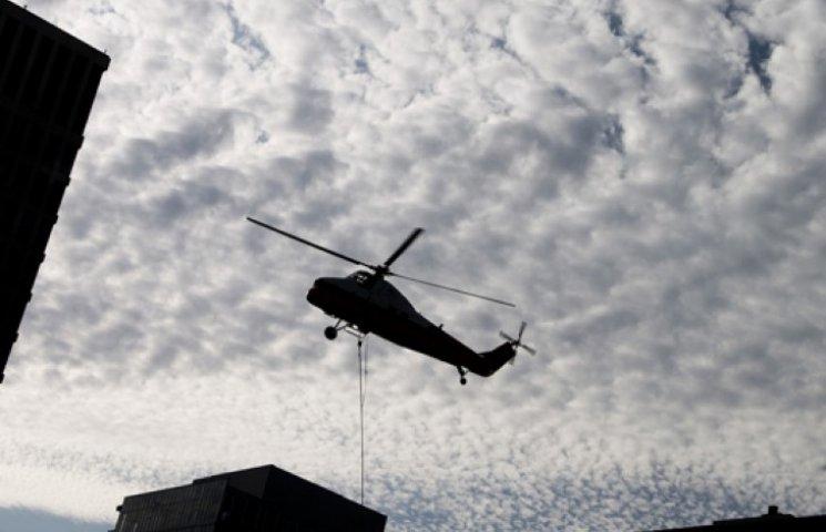 Сегодня над Украиной кружил боевой вертолет РФ