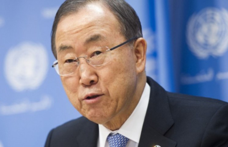 Генсек ООН осудил уничтожение самолета в Луганске