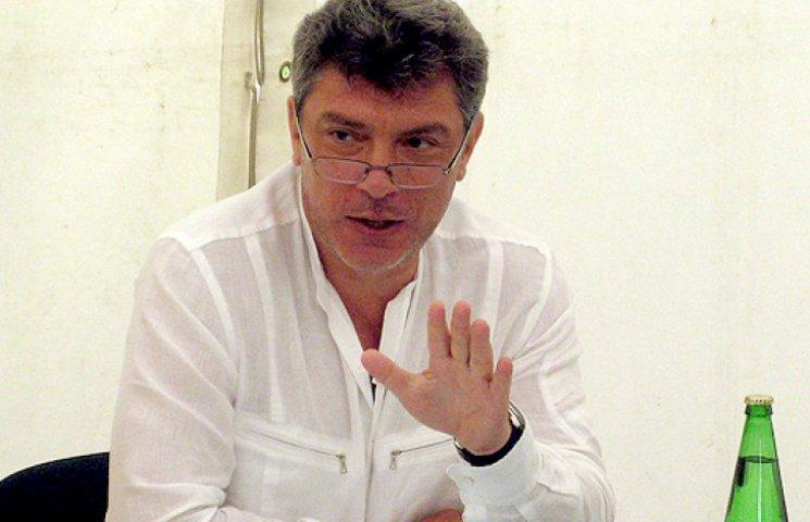 Немцов о газовой войне: шантаж «Газпрома» - блеф