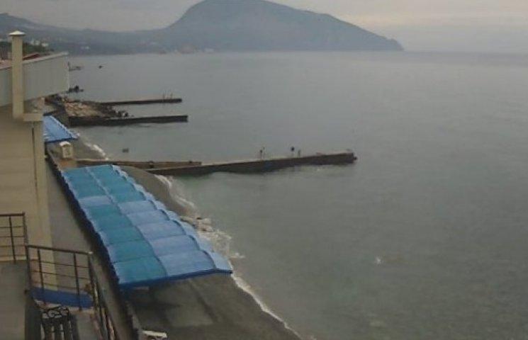 Холодное лето 2014: с крымских пляжей «сдуло» последних отдыхающих