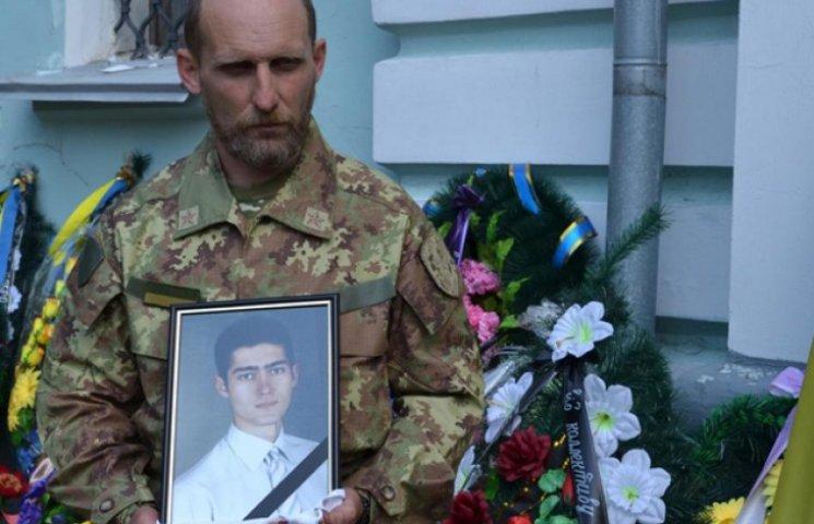 Сумчани простилися з загиблим Романом Антонюком (ВІДЕОФАКТ)