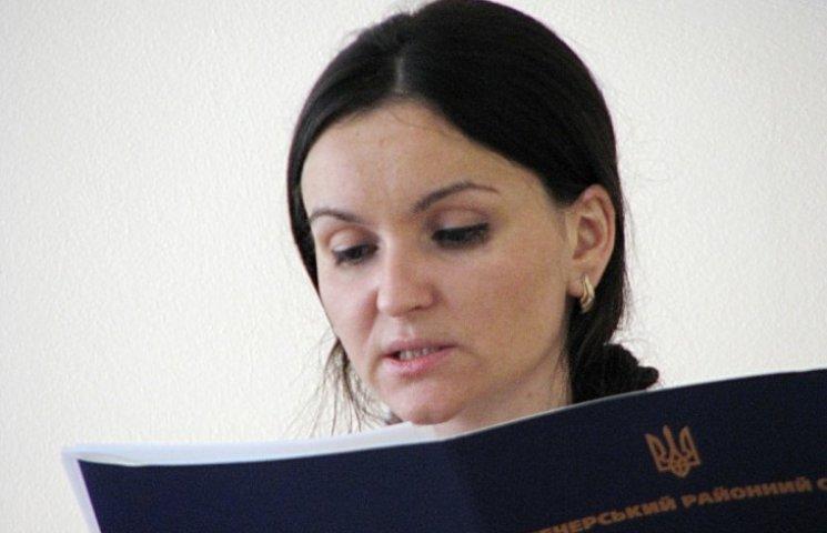 З судді Оксани Царевич зняли електронний браслет