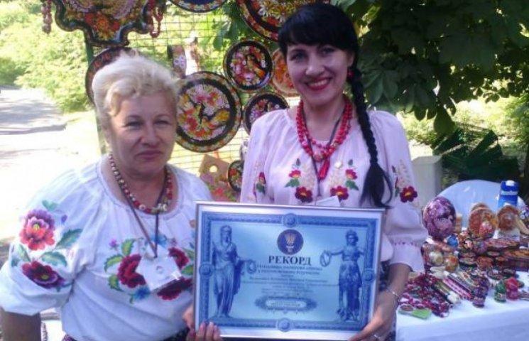 Дніпропетровські художниці встановили Петріківський рекорд (ФОТО)