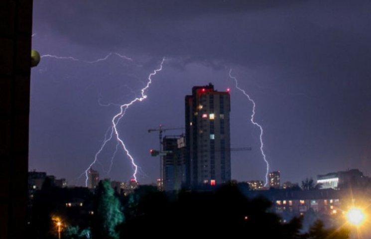 У столиці штормове попередження: Очікуються грози
